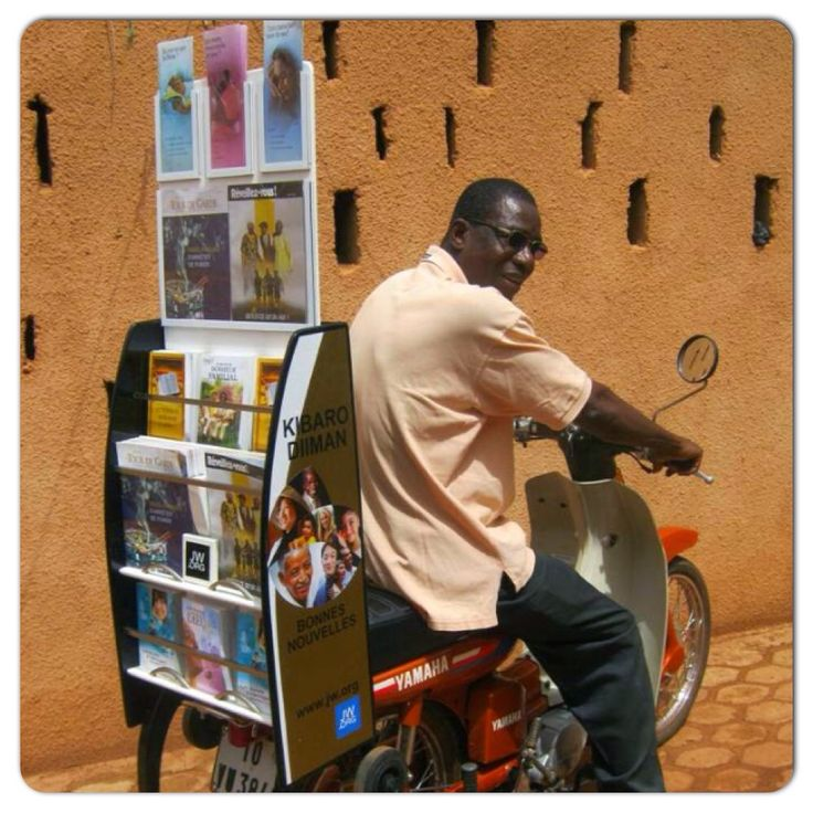 Cart (trolley) witnessing in the Cote d Ivoire (7 of 10) @jwarchive