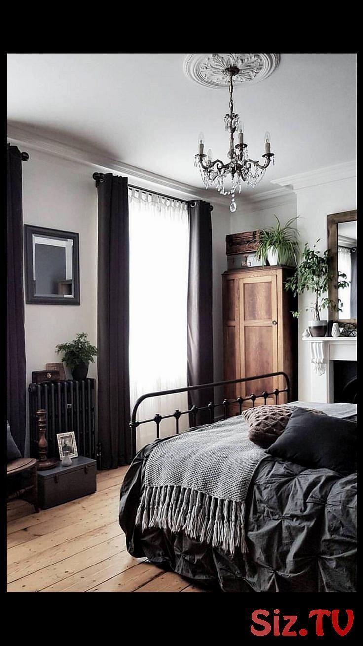 Ich liebe die dunklen Bettlaken und Vorh  nge  Die hellen Holzb  den erg  nzen s…