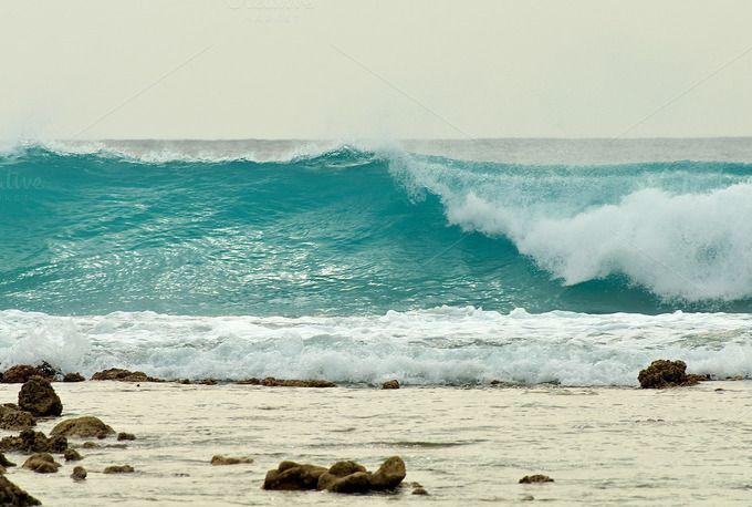 Ocean Wave by zhekos on @creativemarket