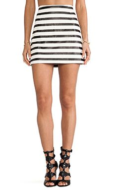 Minkpink Next In Line Skirt In Multi WAS $65.54 NOW $46.20 http://richgurl.com/linkout/1693022