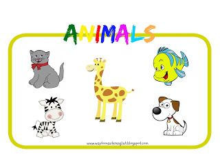 animals, bingo, vocabulary, words