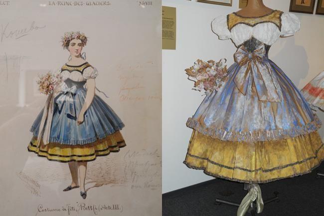 Имитация вышивки в театральном костюме