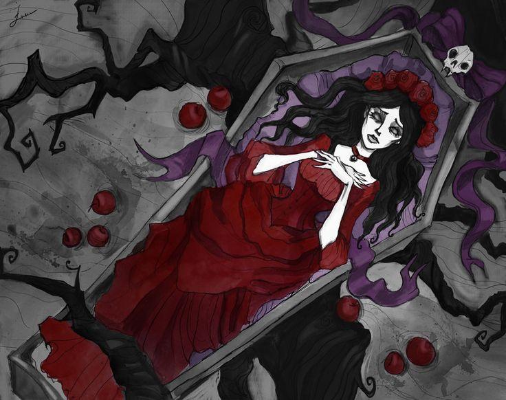 Dead Snow White by IrenHorrors on deviantART