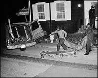 By the end of the evening, police investigators would find an additional two bodies, bringing the Ocean Avenue death toll to six. Six of seven members of the Ronald DeFeo family had been methodically murdered as they slept in their beds, leaving Ronald DeFeo, Jr., as the sole survivor of the grisly suburban bloodbath.