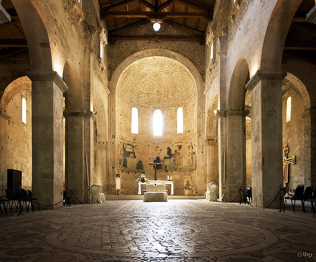 Abbey of Saint Liberatore, Serramonacesca, Province of Pescara, Itay