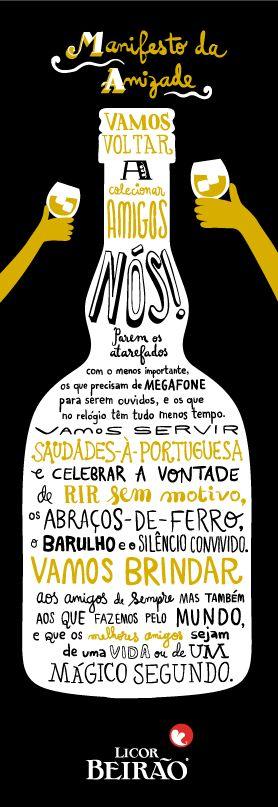 Licor Beirão - Manifesto de Amizade.