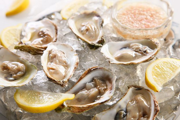 Oysters with Prosecco Mignonette--Recipes to Celebrate Julia Child's Birthday #Happy100thJulia