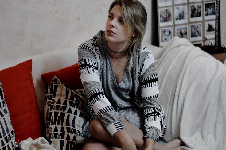 The Photoholic Girl - Personal Blog #chicme #zara #chocker #tribal #fashion #outfit #blonde