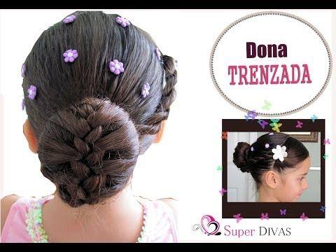 Dona Trenzada - Ballet - Peinados Infantiles - YouTube