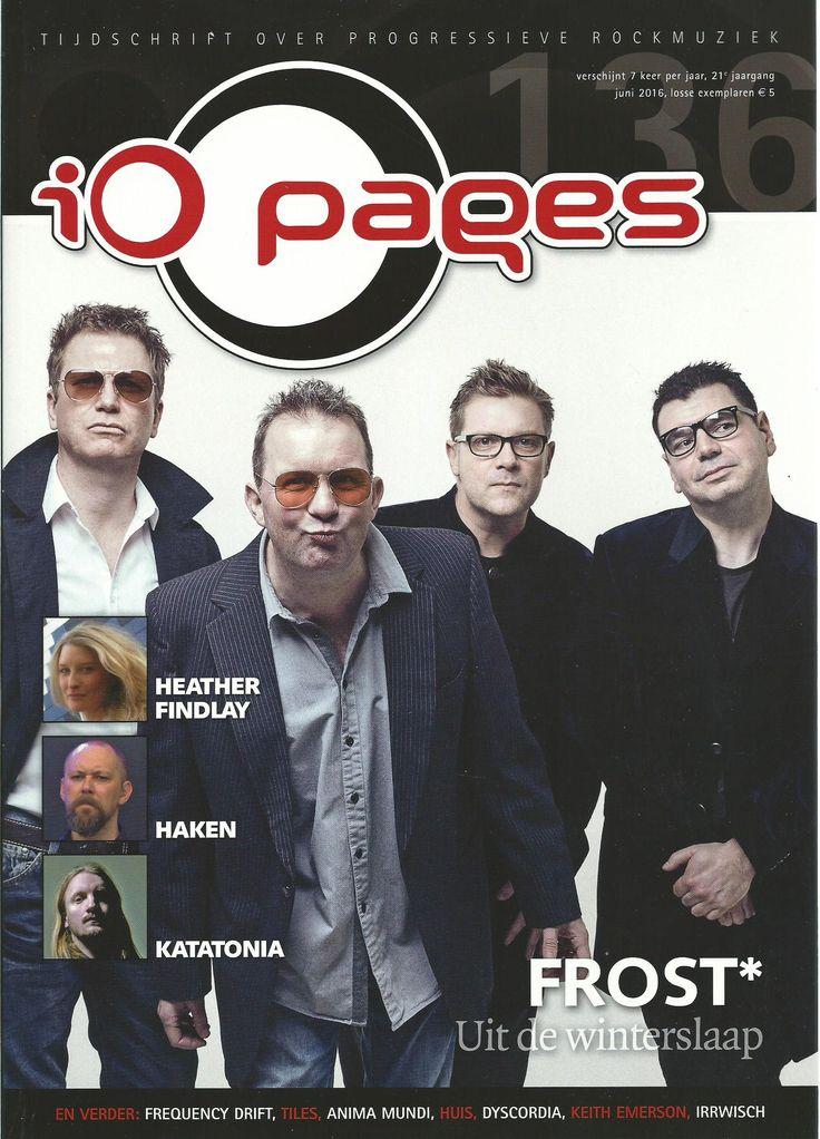 iO Pages - tijdschrift voor progressieve rockmuziek: schrijven van interviews en  recensies