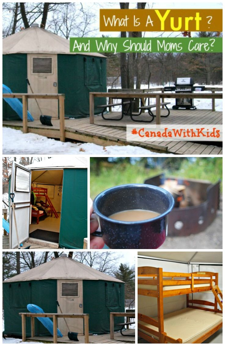 What is a Yurt and Why Should Moms Care? Everything moms need to know about yurt #Camping #CanadaWithKids #FamilyTravel #Travel