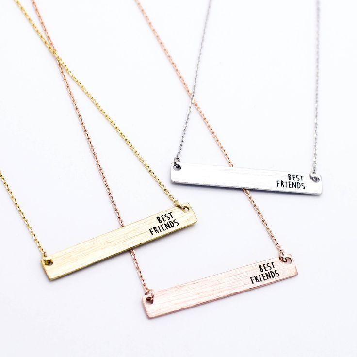 Best Friends necklace (3 colors)