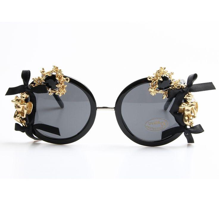 2017 accesorios de Moda de Lujo gafas de Sol de las mujeres barroco gafas de sol para las mujeres Diseñador de la marca femenina de La Vendimia de Sombra en Gafas de sol de Ropa y Accesorios de las mujeres en AliExpress.com | Alibaba Group