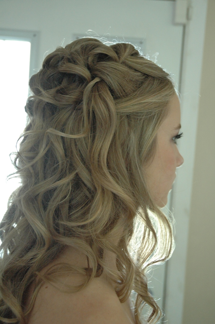 Grad hair...by me! NicoleRuthStyle