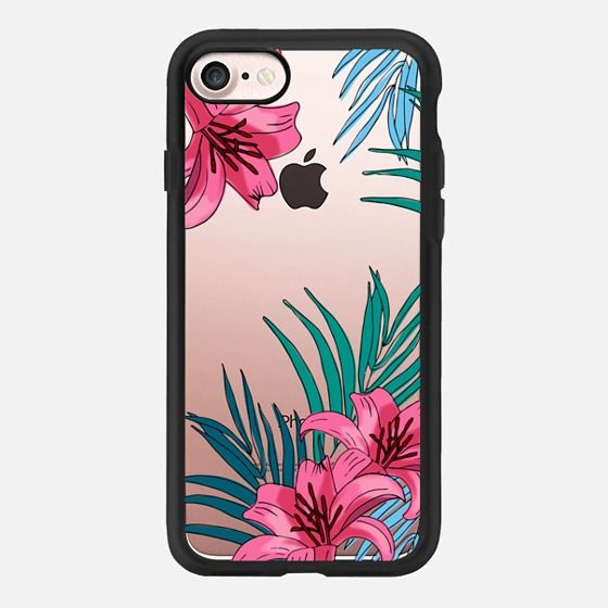 Casetify iPhone 7 Case and Other iPhone Covers - Tropical Florals  by Megan Roy | #Casetify