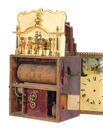 Nature Morte Vintage musical automatons, pianola and organs.
