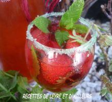 Recette - Liqueur de fraises, Mara des bois - Proposée par 750 grammes