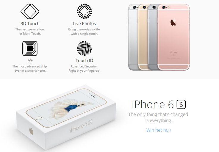 Apple's iPhone 6S!