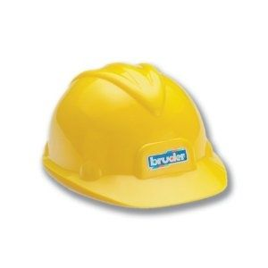 Breck would love this! Bruder Construction Toy Hard Hat  by Bruder  3.6 out of 5 stars  See all reviews (24 customer reviews) | Like (1)  List Price:	$9.99  Price:	$4.93: