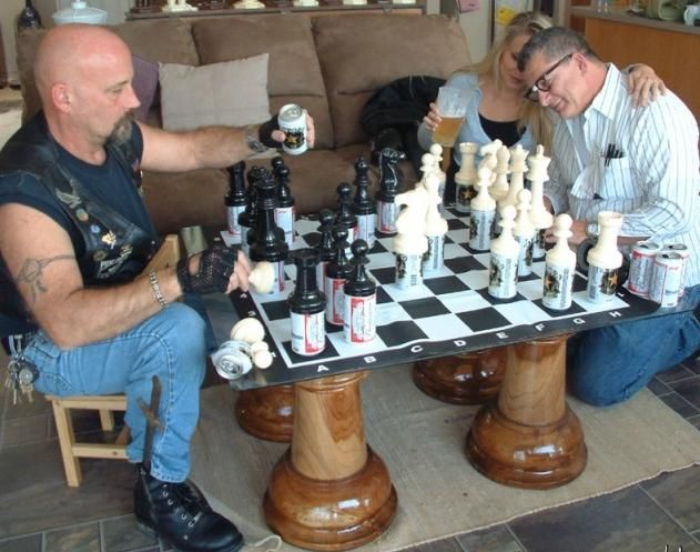 a drinking game?: Beer Chess, Beer Pong, Drinks Games, Chess Boards, The Games, Funny Stuff, Chess Games, Genius Ideas, Drinking Game