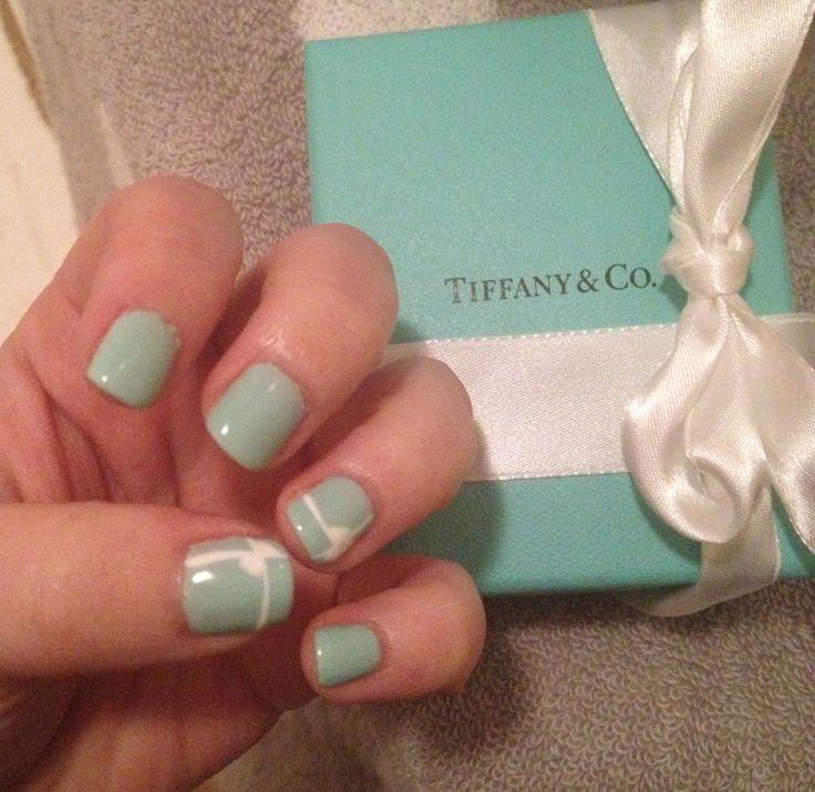 Tiffany Blue Gel Nail Polish: 46 Best Nail Design Images On Pinterest