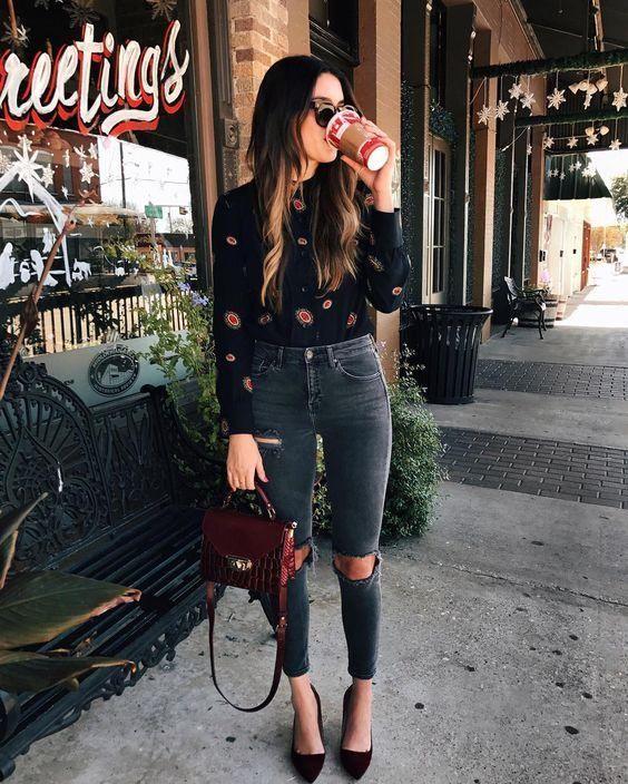Outfits con pantalon a la cintura | Belleza