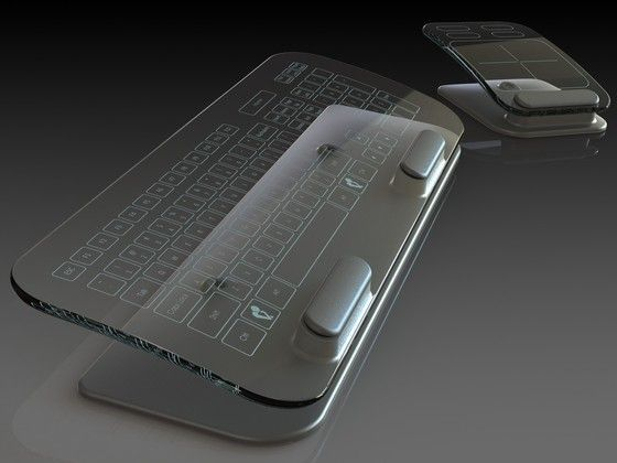 Translusense clear keyboard eyes-on