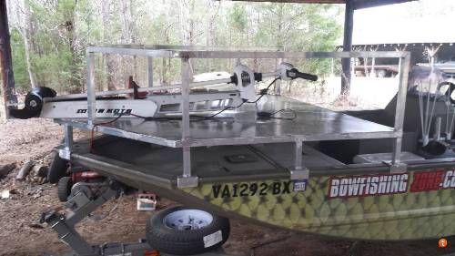 Bowfishing deck designs idea bowfishing boats fishing for Bow fishing platform