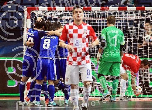 Utakmica C grupe Evropskog prvenstva u Futsalu (UEFA FUTSAL EURO 2016) izmedju Kazahstana i Hrvatske (Kazakhstan vs Croatia) odigrana u Beogradskoj areni (Kombank arena)