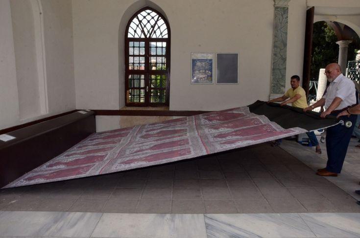 Emir Sultan Camisi'ne otomatik seccade sistemi
