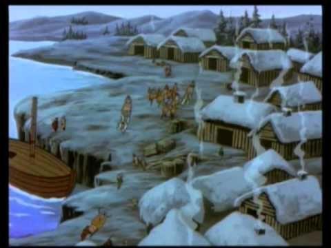 ▶ Siperian halki Alaskaan 1/2 - YouTube (video 14.20).