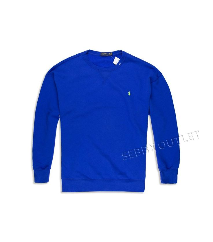 Polo Ralph Lauren Sweatshirt Pullover Rugby Royal Blue