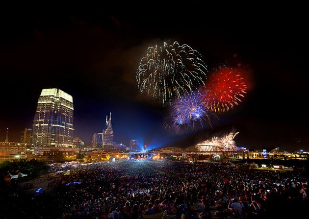 nashville 4th july roadblocks
