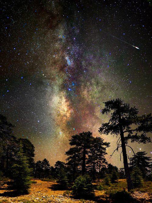 amazing shooting stars space - photo #3