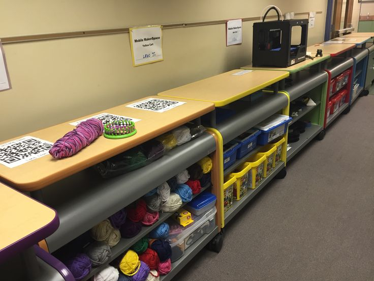 Mobile MakerSpaces in Action (Video)  The entire concept is really quite simple. The Mobile MakerSpace carts that line the hallway leading into our Media Center are capable of transportingnew opportunities and tools to virtually any space in our school.