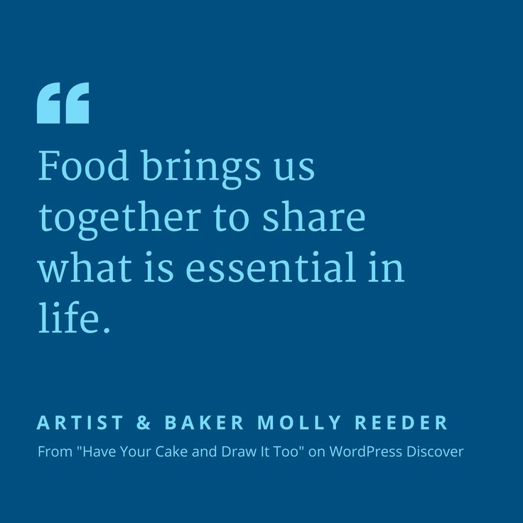 The finest food illustrators on WordPress reflect on taste and memory — and the joy of drawing dishes.