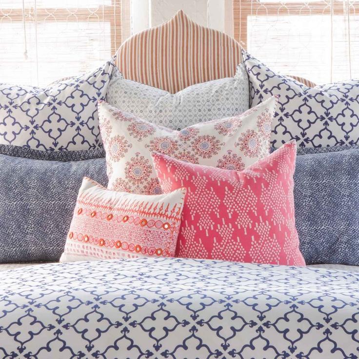 patterns on patterns. John Robshaw Textiles