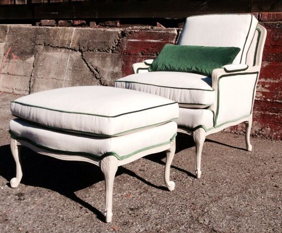 Upholstered Chair And Ottoman 93 best a r c h i v e | upholstery images on pinterest