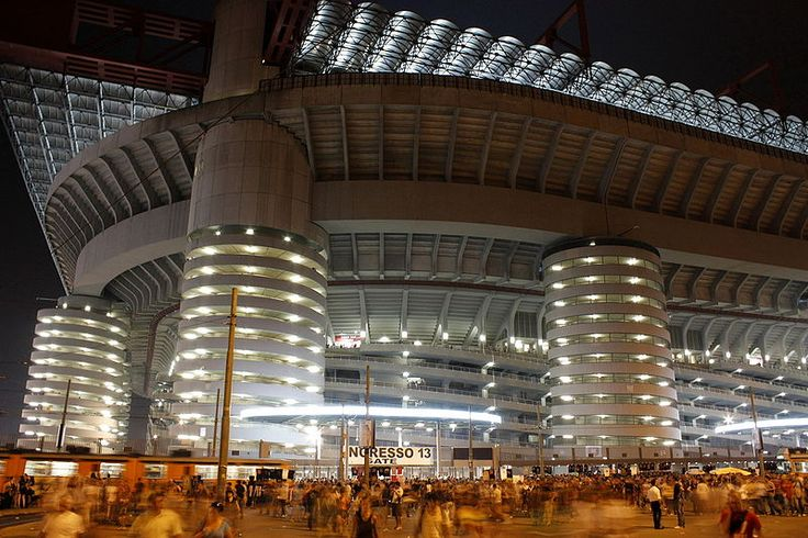 The wonderful San Siro Stadium, Milan. #milan #sansirostadium #travel