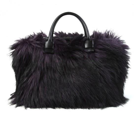 More Furry Fashions.  Check out this season's selection of faux fur handbags.: Faux Fur, Fur Handbags, Bags Marc, Furry Accent, Fall 2012, Fashion Trends, Fur Bags, Furry Fashion, Bags Purses Clutches Wallets