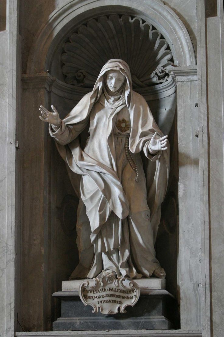 Paolo Campi, 1740 | St Juliana Falconieri. St. Peter's Basilica, Rome, Italy