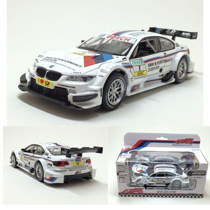 New 1:32 Scale Diecast Alloy Metal Luxury Racing Car Model For The M3 DTM Model With Pull Back For children Toys Car Collection