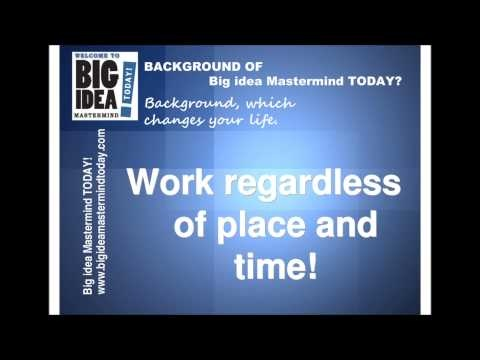 What is the background of Big Idea MasterMind ?   Here is the background of Big Idea MasterMind   http://www.bigideamastermindtoday.com
