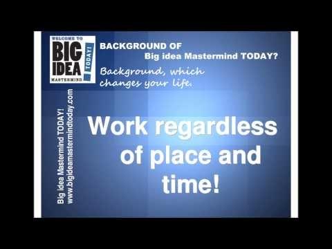 What is the background of Big Idea MasterMind ?   Here is the background of Big Idea MasterMind   http://www.bigideamastermindtoday.com