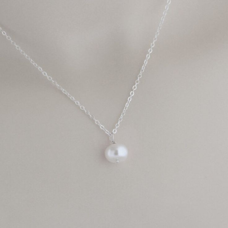 Simply Sweet Pearl Necklace, Jewelry For A Good Cause, Trending Styles, Gift For Daughter, Gift For A Friend, Bridal Party Gift by IloveMyDogJewelry on Etsy https://www.etsy.com/listing/264584827/simply-sweet-pearl-necklace-jewelry-for