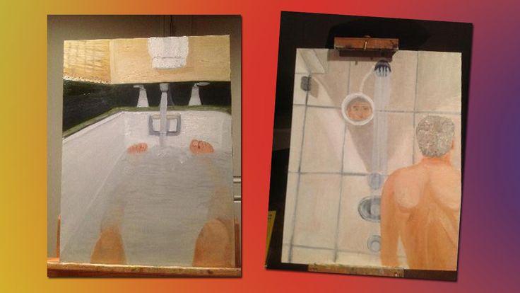Look at George W. Bush's Paintings