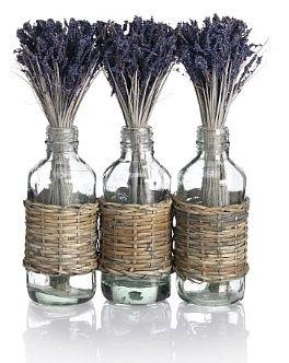 Marks and Spencer Trio Lavender Glass Bottles on shopstyle.co.uk