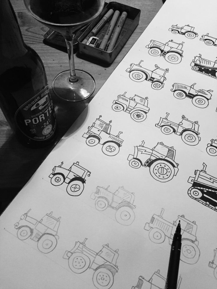 perfect for #kids and any other #fans of #machines and #tinymachinery #drawing