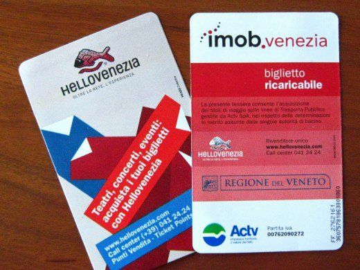 Once in Venice you can easily purchase waterbus (vaporetto) daily passes.