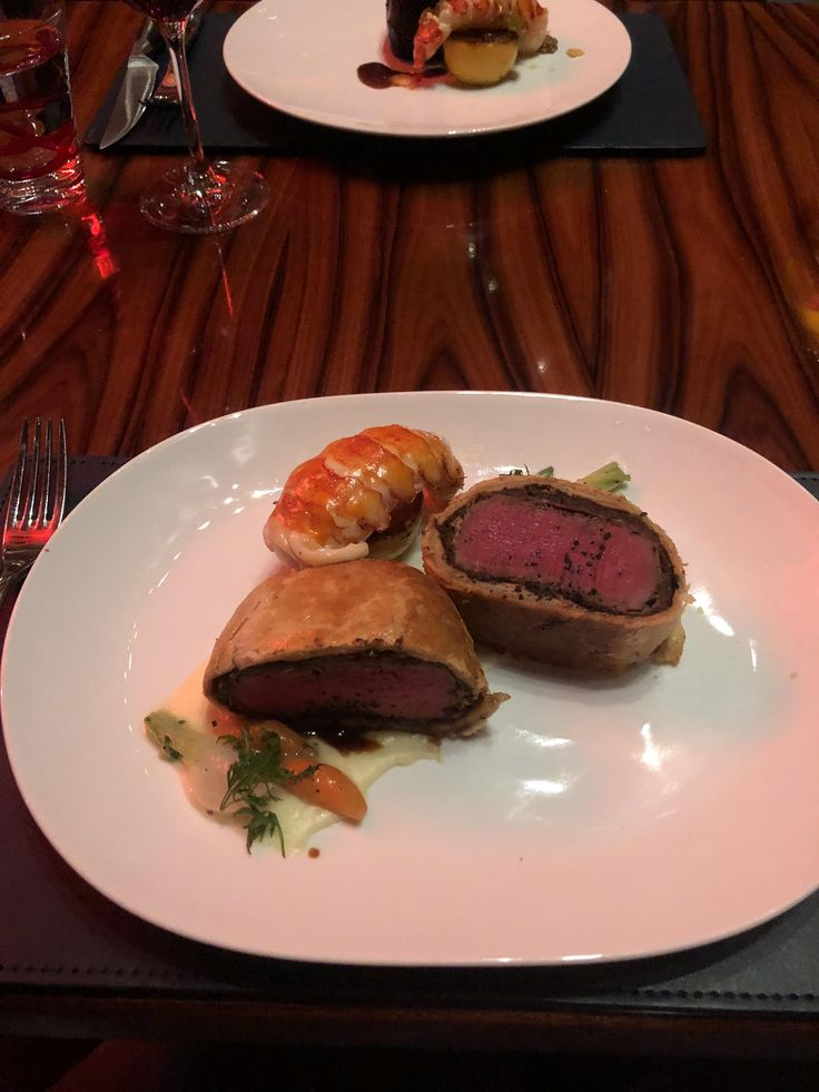 [I ate] Gordon Ramsays Beef Wellington with a butter